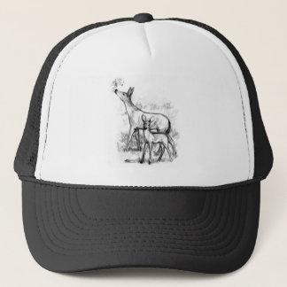 Deer Family Trucker Hat