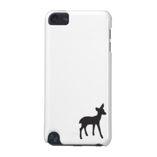 Deer fawn black white silhouette kawaii cute iPod touch 5G cover