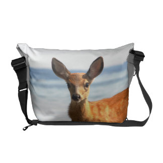 Deer fawn courier bag