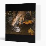Deer Fawn in a Creek Vinyl Binders