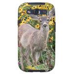 Deer Fawn in Flower Garden Galaxy SIII Covers