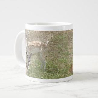 Deer Fawn Jumbo Mug 20 Oz Large Ceramic Coffee Mug