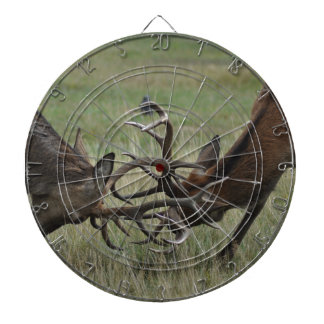 Deer Fight Dart Board