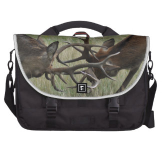 Deer Fight Laptop Bag