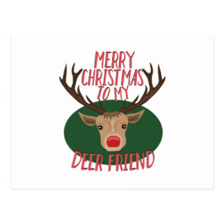 Deer Friend Postcard