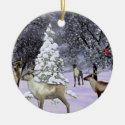 Deer gathering ornament customize