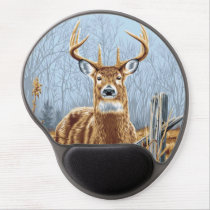 Deer gel mouse pad