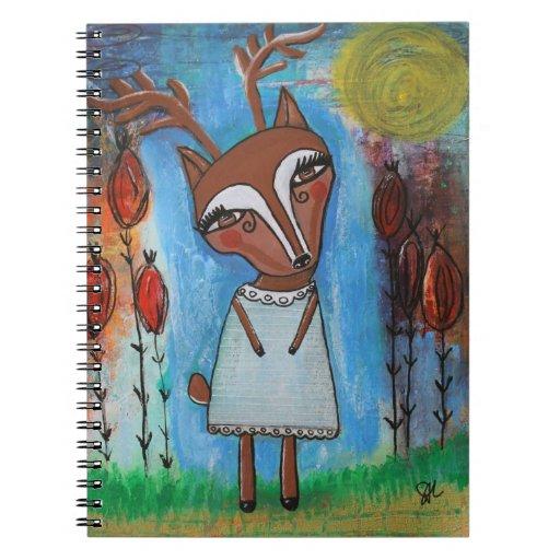Deer Girl Note Book
