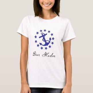 Deer Harbor Yacht Ensign Womens Tee