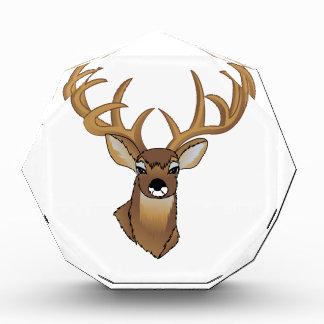 Deer Head Acrylic Award