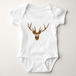 deer head antler tshirts