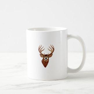 Deer Head Coffee Mug