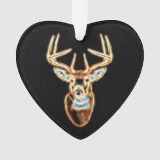 Deer Head digital Energy Spirit Ornament