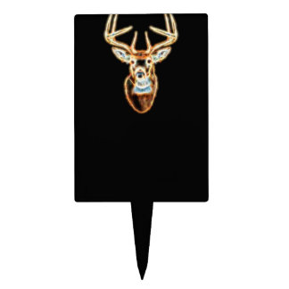 Deer Head Energy Spirit Cake Topper
