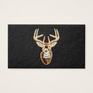 Deer Head Energy Spirit designs Business Card