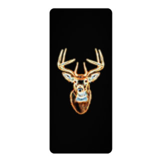 Deer Head Energy Spirit designs Card