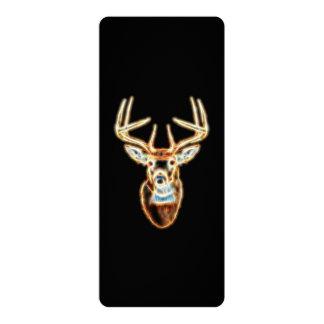 Deer Head Energy Spirit designs Card