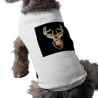 Deer Head Energy Spirit Dog Tee Shirt