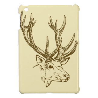 Deer Head Illustration Graphic Case For The iPad Mini