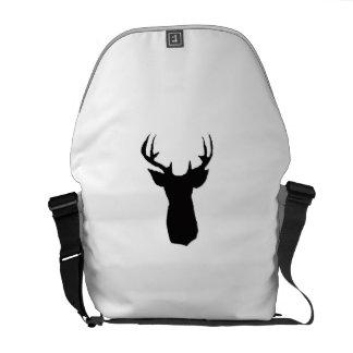deer head image on bag