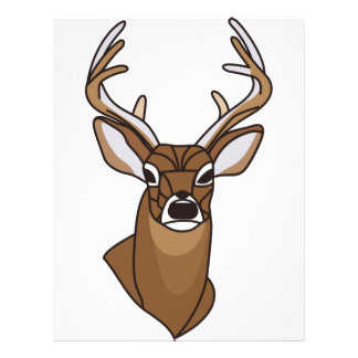 Deer Head Letterhead