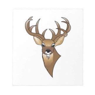 Deer head notepad