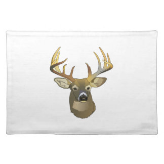 DEER HEAD CLOTH PLACEMAT