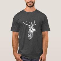 Deer Head Vintage Style Hunt Theme T-Shirt