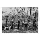 Deer Hunter, 1922 Card