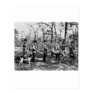 Deer Hunter, 1922 Postcard