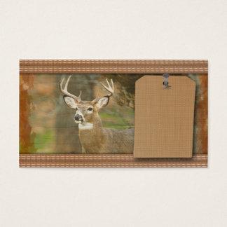 Deer Hunter Business Card