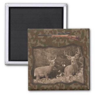 Deer Hunter Camo Magnet