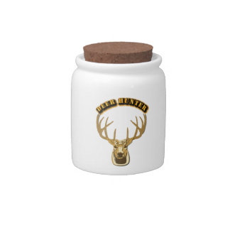 Deer Hunter Candy Dishes