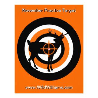 Deer Hunter Competitive Target Letterhead