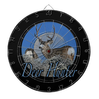 Deer Hunter Dartboard With Darts