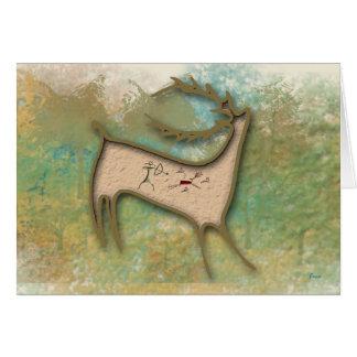 Deer Hunter Greeting Card