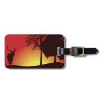 Deer Hunter Luggage Tag