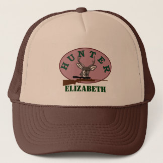 Deer Hunter Personalized Ladies Trucker Hat