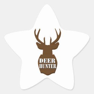 Deer Hunter Star Sticker