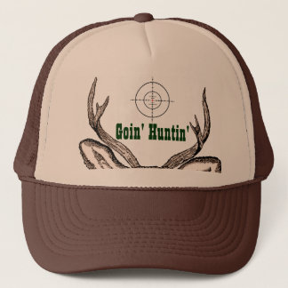 Deer Hunter With Scope Trucker Hat