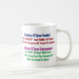 Deer Huntin' Sayin' Coffee Mug