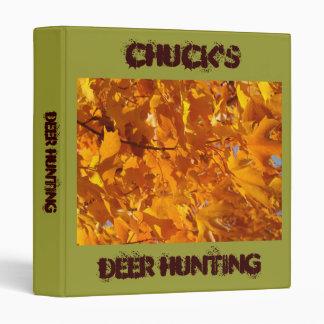 Deer Hunting binder Photos Trip Planning Advice