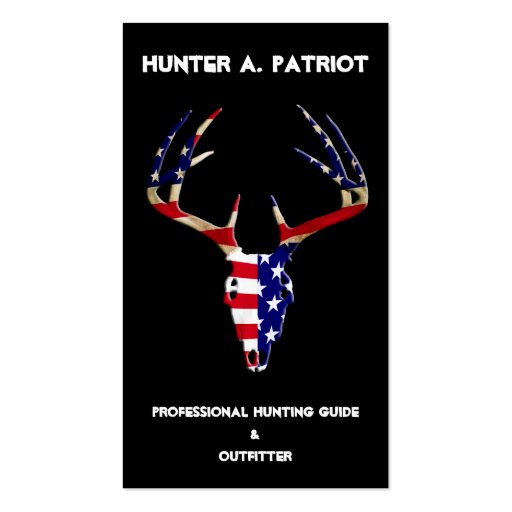 Deer Hunting - Double-Sided Standard Business Cards (Pack Of 100)