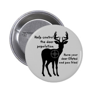 Deer Hunting Button