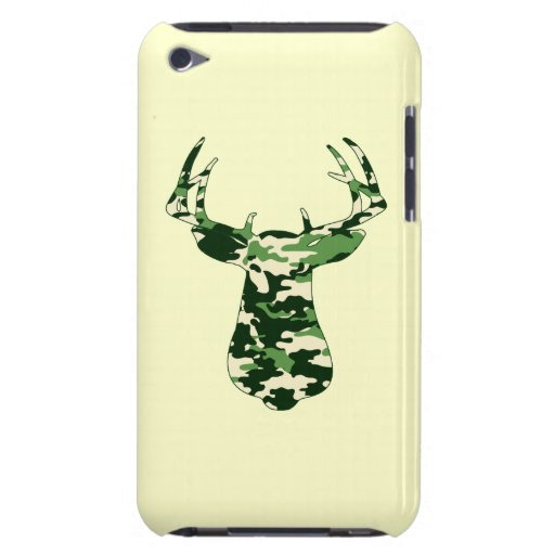 Deer Hunting Camo Buck Barely There iPod Case