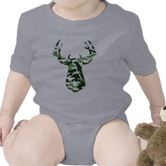 Deer Hunting Camo Buck Bodysuits