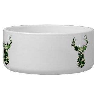 Deer Hunting Camo Buck Bowl