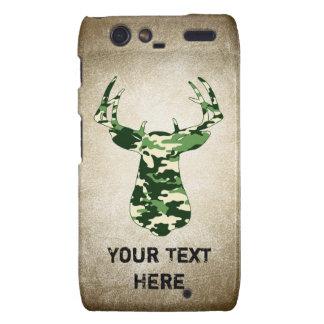 Deer Hunting Camo Buck Droid RAZR Case