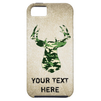 Deer Hunting Camo Buck iPhone 5 Cover