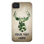 Deer Hunting Camo Buck iPhone 4 Case